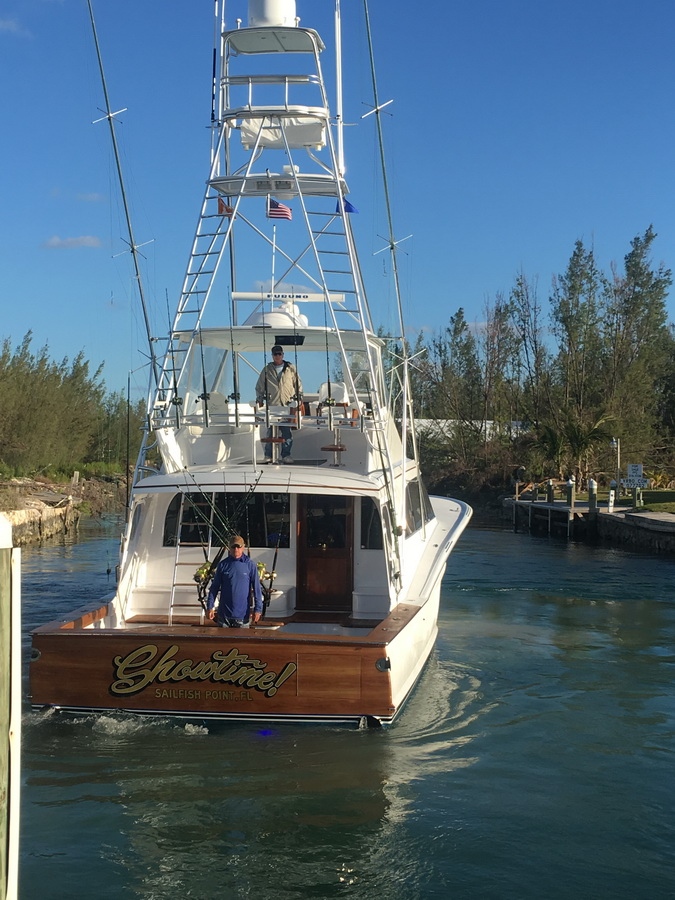 blue marlin cove showtime boat